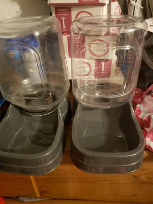 Food and water tray both for $5 for Sale in Rowlett, TX