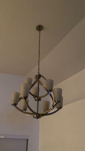 9 bulb chandelier ! for Sale in Miramar, FL