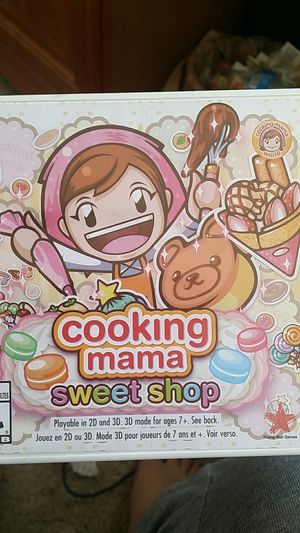 Cooking Mama Sweet Shop Nintendo 3DS game for Sale in San Diego, CA