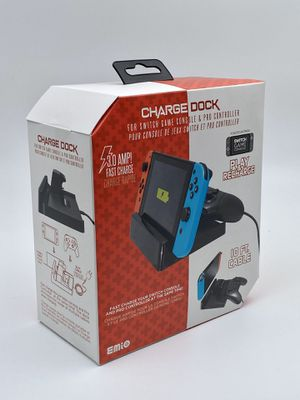 Emio Nintendo Switch & Pro Controller Dock Charger New for Sale in Santa Ana, CA