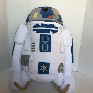 R2D2 cloth, stuffed backpack for Sale in San Diego, CA