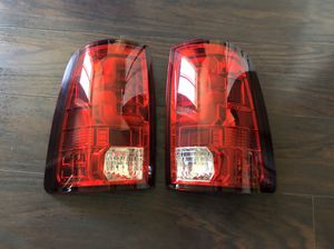 New Dodge Ram led TUBE tailights 1500, 2500 , 3500 for (09-18) ram for Sale in San Diego, CA