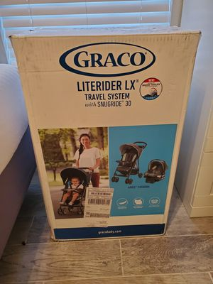 Graco - Brand new stroller and baby seat for Sale in Dallas, TX