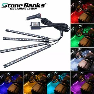 🚨🔥NEW EASY PLUG & PLAY CAR INTERIOR LED LIGHTING KIT W/PHONE APP CONTROL! RGB MULTIPLE COLORS OPTIONS. EASY INSTALLATION!!🔥🚨 for Sale in Ontario, CA