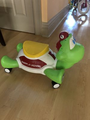 Radio flyer turtle . Also have tons of kids toys and clothes for Sale in Lemont, IL