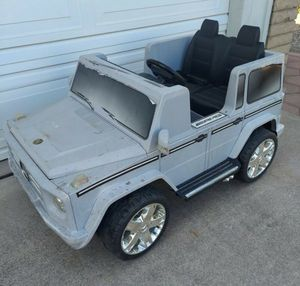 KID MOTORZ 12V MERCEDES BENZ G55 AMG TWO-SEATER RIDE-ON for Sale in Phoenix, AZ