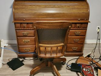 Roll A Desk Solid Wood for Sale in Plant City,  FL