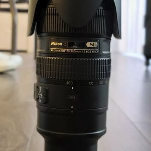 Nikon 70-200mm F/2.8 ED for Sale in Essex, MD