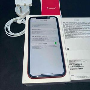 iPhone 11 red unlocked for any carrier for Sale in Chicago, IL