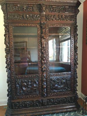 Gorgeous Antique Bookcase - 19th century for Sale in Arlington, VA
