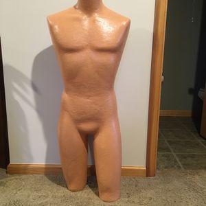 Male 3/4 Torso Dress Form for Sale in Alexandria, VA