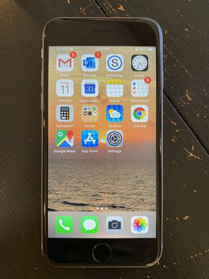 iPhone 6S unlocked, excellent condition for Sale in Woodstock, GA