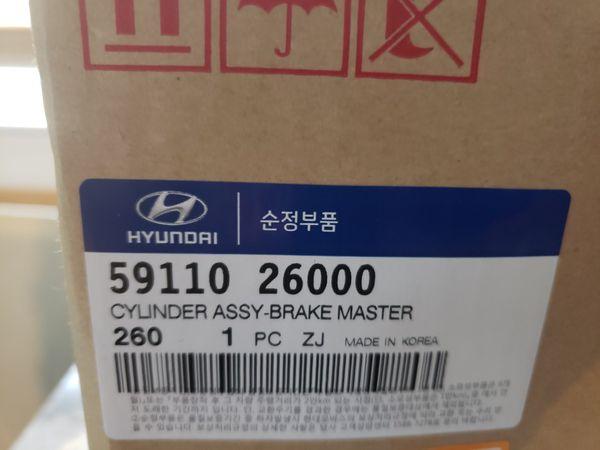 GENUINE Fits 01-04 Hyundai Santa Fe Brake Master Cylinder OEM 59110-26000