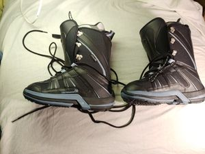 BOOTS BLACK Silver Blue New open box Size 6.5 US. Condition is New for Sale in Sacramento, CA