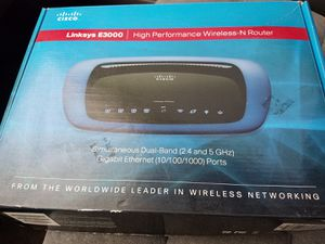 Linksys wireless router for Sale in Chino Hills, CA