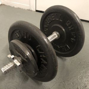 25 lbs Adjustable Dumbbell for Sale in Los Angeles, CA