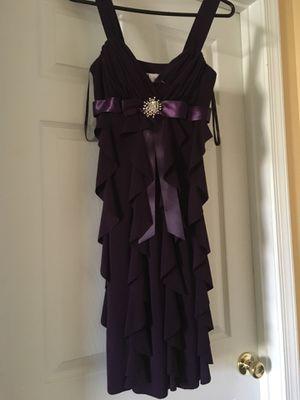 Cocktail dress purple for Sale in Manassas, VA