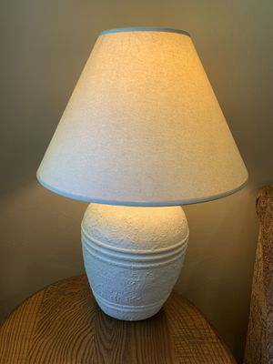 White Stucco Lamp for Sale in DC, US