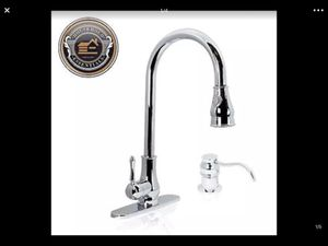 "18"" Chrome Pull Down Kitchen Sink Faucet with Soap Dispenser.... CHECK OUT MY PAGE FOR MORE ITEMS for Sale in Baltimore, MD"