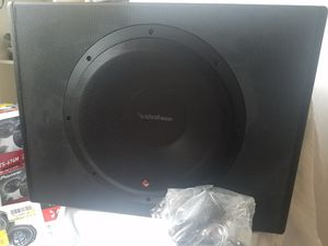 ROCKFORD FORSGATE P300 12 PUNCH POWER 12 INCH SUBWOOFER ENCLOSURE for Sale in Alexandria, VA