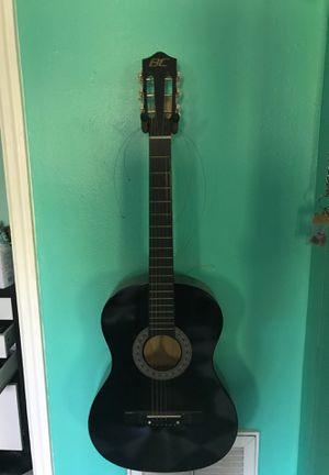 Black guitar for Sale in New Port Richey, FL