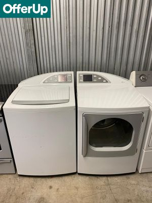 GE Ask for Delivery! Washer Electric Dryer Set Works Perfect #1256 for Sale in Orlando, FL