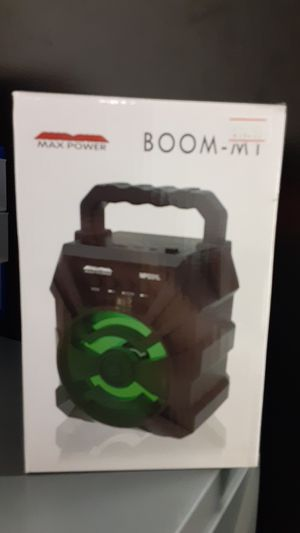 Boom M1 mini Bluetooth speaker for Sale in San Angelo, TX