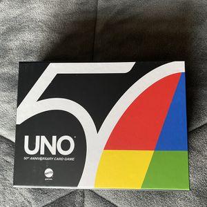 EXCLUSIVE 50th Anniversary Uno Premier Edition for Sale in Renton, WA
