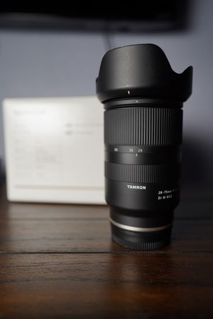 Tamron 28-75mm f/2.8 Di III RXD Lens for Sony E for Sale in Boston, MA