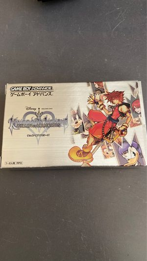 Kingdom hearts chain of memories gameboy advance gba for Sale in Anaheim, CA