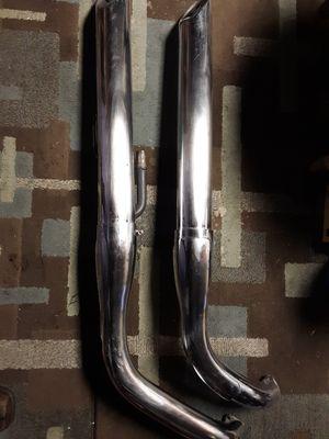 Kawasaki Vulcan 900 stock exhaust pipes for Sale in LAUREL PARK, WV