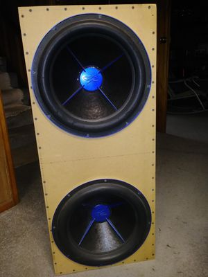 Like new subwoofer setup for sale for Sale in GRANDVIEW, OH