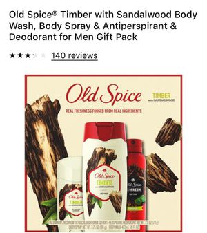 Old spice ( gift set) for Sale in Fort Worth, TX