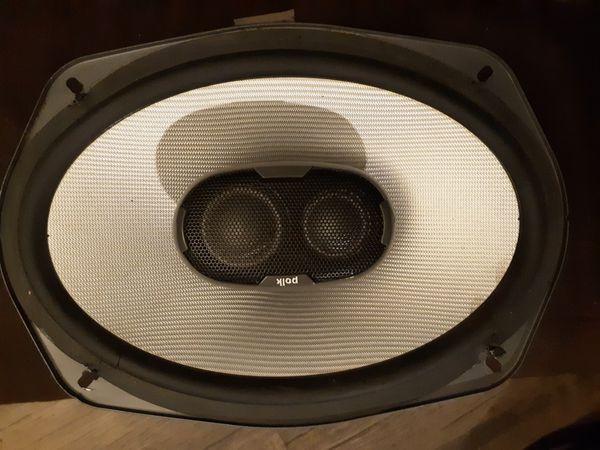 Polk audio car speake4
