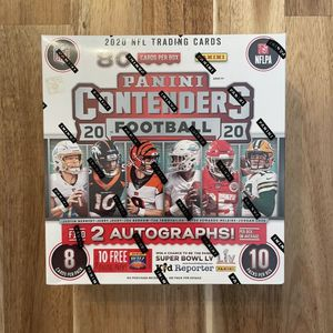 2020 Panini Contenders NFL Factory Sealed 10-Pack Mega Box - Fanatics Exclusive for Sale in Washington, DC