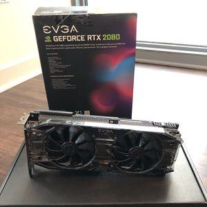 EVGA 2080 Black GeForce RTX for Sale in Chicago, IL