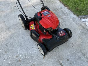 Troy Bilt self propelled lawnmower runs great it's a little rough on the outside but it works great. Please look at the other items for selling on ou for Sale in Palm Harbor, FL