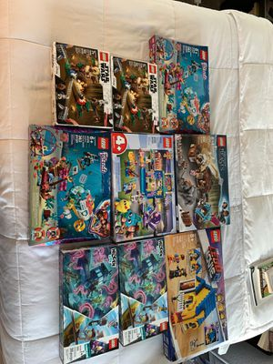 LEGO LOT FOR SUPER PRICE - 9 Sets for Sale in SeaTac, WA