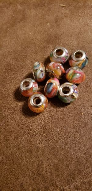 Colorful glass rondale beads for Sale in Auburndale, FL