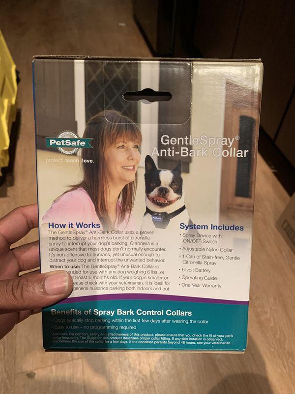 Anti-Bark Dog Collar