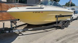 Trail-Rite boat trailer $700 + free 1984 boat, must take both for Sale in Santa Monica, CA