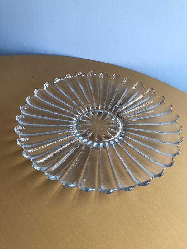 Vintage glassware various items