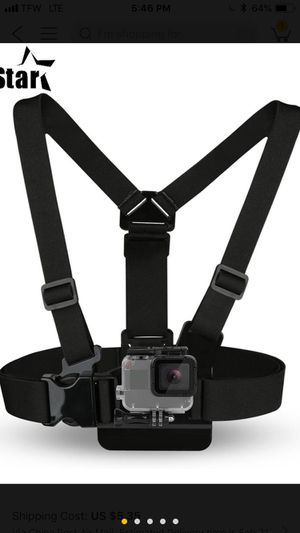 GoPro chest mount $10 for Sale in Baltimore, MD