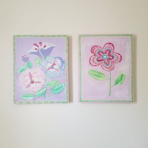 Wall artwork for girl's room for Sale in Orlando, FL