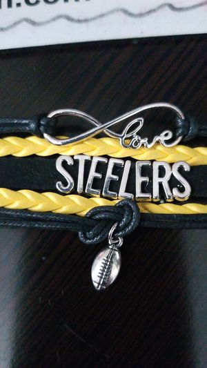 New Pittsburgh Steelers bracelet for Sale in Riverview, FL