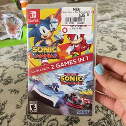 Sonic Nintendo Switch Game for Sale in Tolleson,  AZ