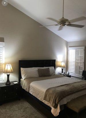 King Size Bed Frame (& Mattress) for Sale in Scottsdale, AZ