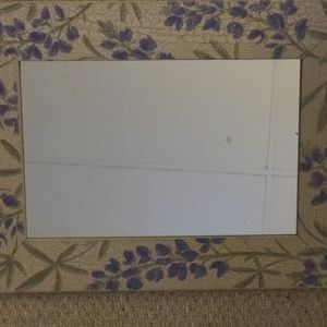 Wall Mirror- Decorative - With Floral Frame for Sale in Fairfax, VA
