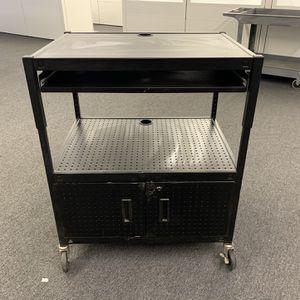 Metal AV Computer Rolling Stand for Sale in Irvine, CA