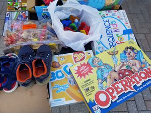 Kids toys. Shoes size 1 for Sale in Fort Myers, FL